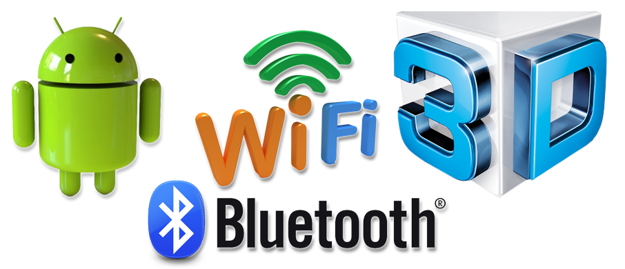 android, wifi, bluetooth, active 3d
